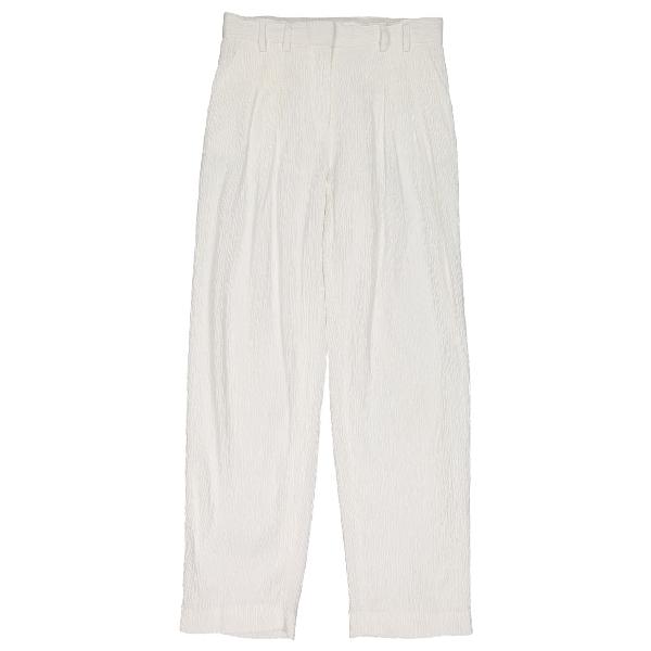 Victoria Victoria Beckham White Trousers