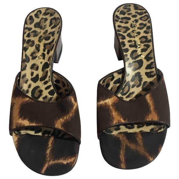 Dolce & Gabbana Multicolour Cloth Sandals