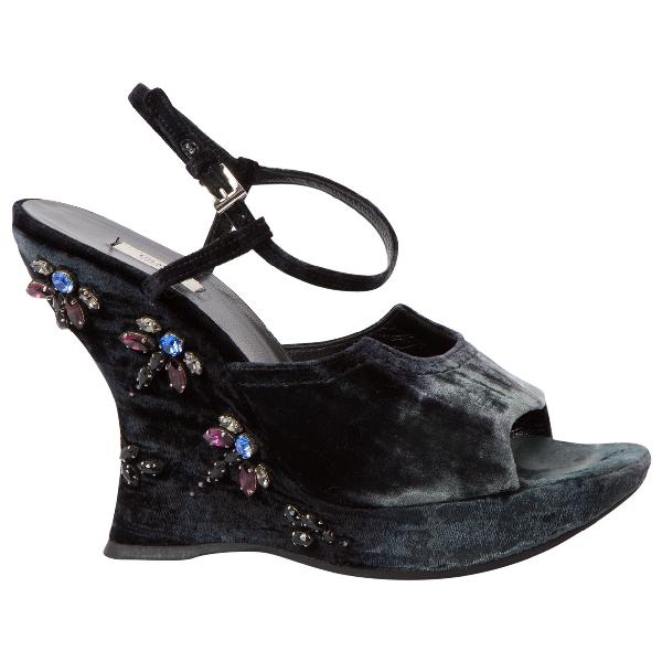 Prada Cloth Sandals