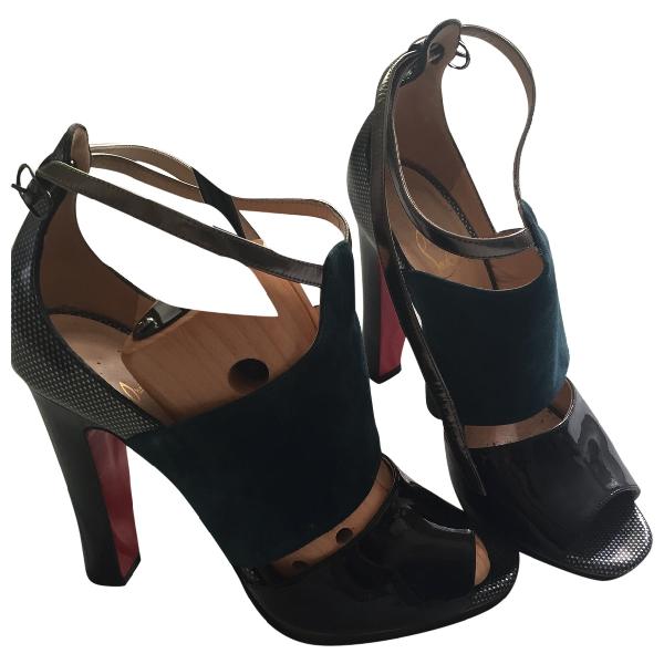 Christian Louboutin Multicolour Patent Leather Sandals