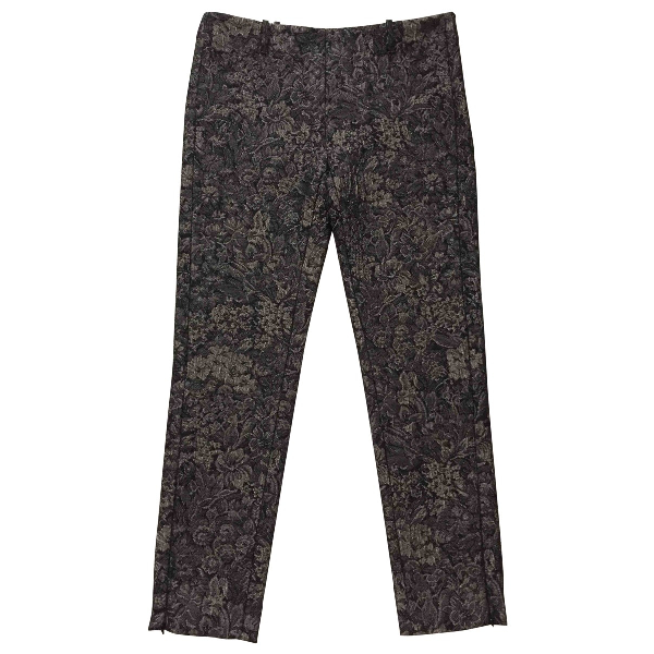 Golden Goose Black Wool Trousers