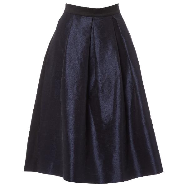 Lulu & Co Navy Skirt