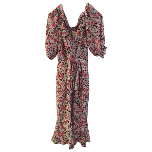Saloni Multicolour Silk Dress