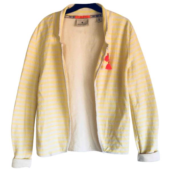 Maison Scotch Yellow Cotton Jacket