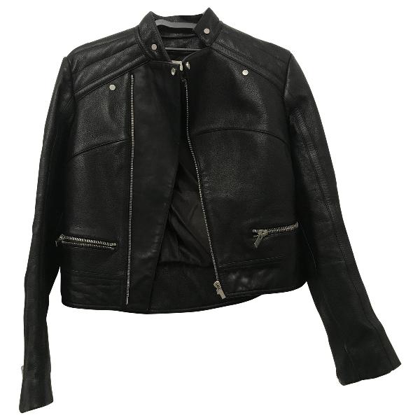 Balenciaga Black Leather Leather Jacket