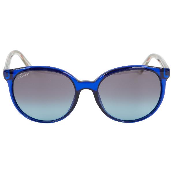 Gucci Blue Sunglasses