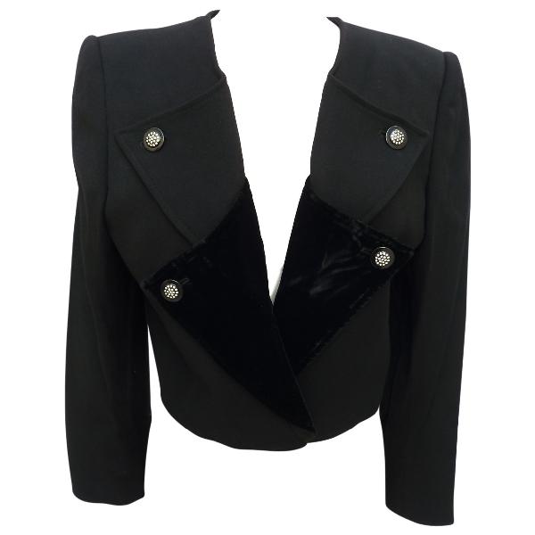 Valentino Black Wool Jacket