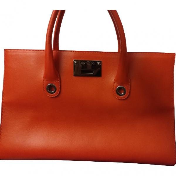 Jimmy Choo Riley Red Leather Handbag