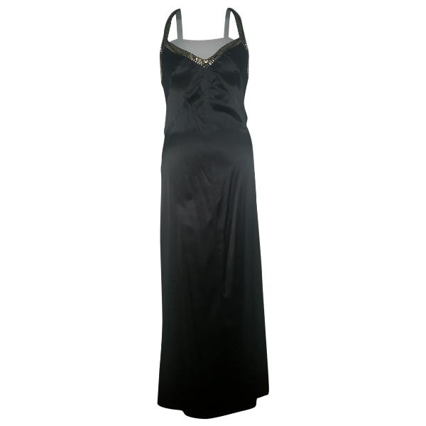 John Richmond Black Silk Dress