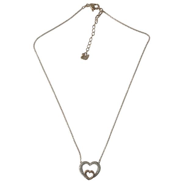 Swarovski Pink Crystal Necklace