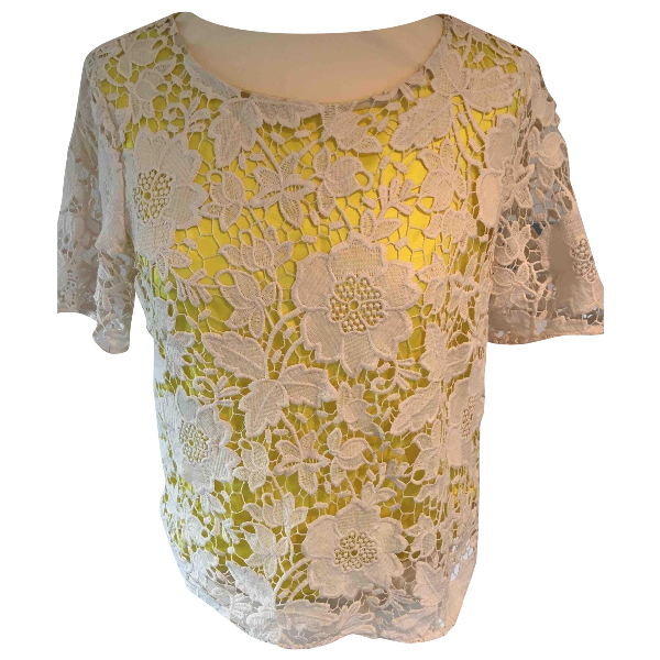 By Malene Birger White Lace  Top