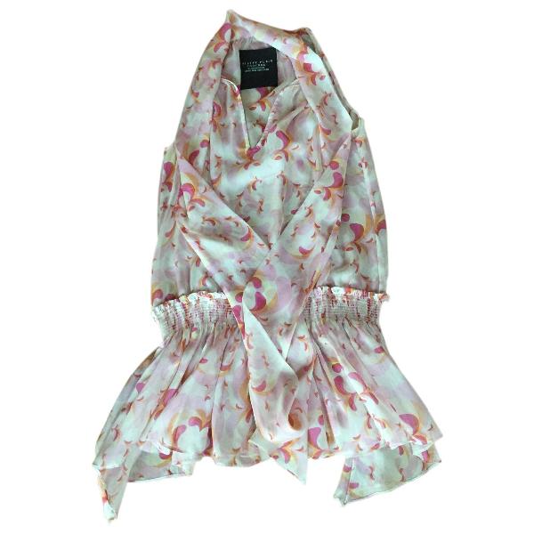 Philipp Plein Pink Silk Dress