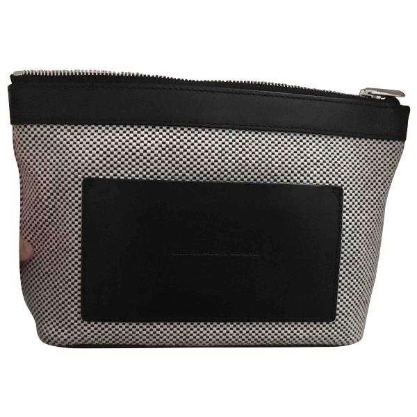 Alexander Wang Grey Leather Clutch Bag