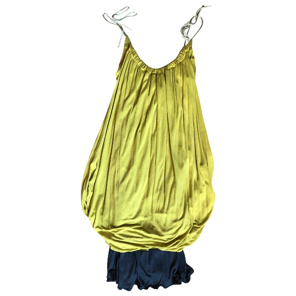 See By ChloÉ Yellow Cotton Dress