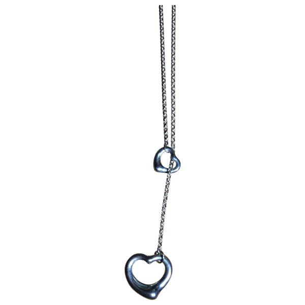 Tiffany & Co Elsa Peretti  Silver Silver Necklace