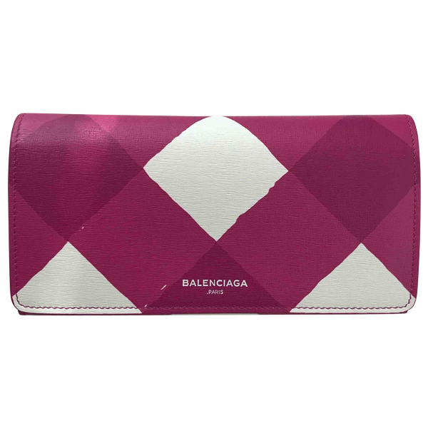 Balenciaga Multicolour Leather Wallet