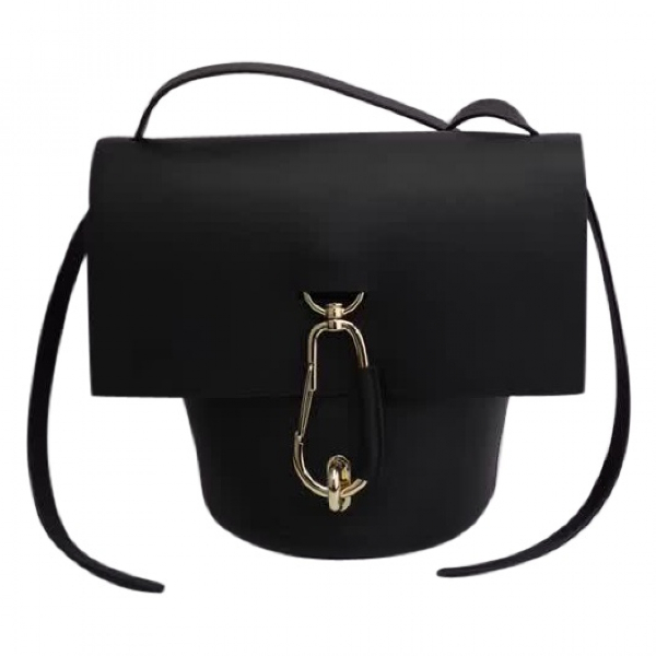 Zac Posen Black Leather Handbag