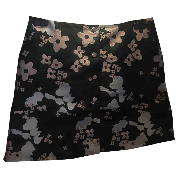 Markus Lupfer Black Cotton Skirt