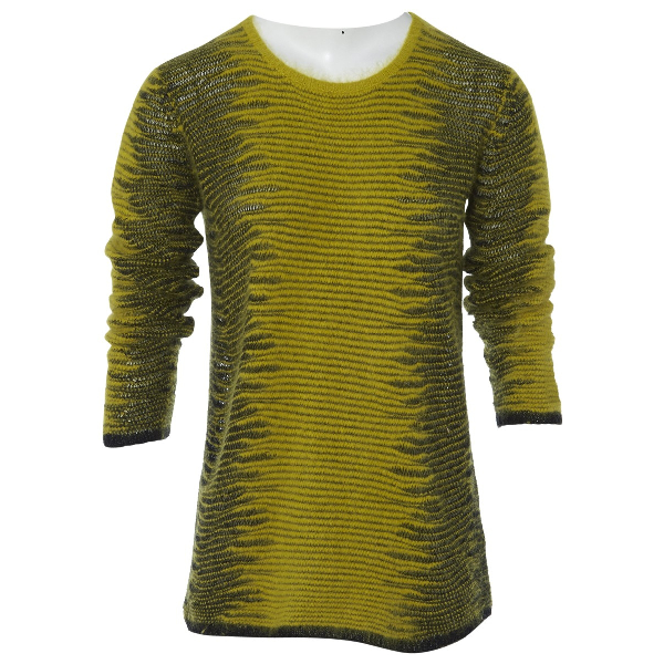 Alexander Wang Yellow Wool Knitwear