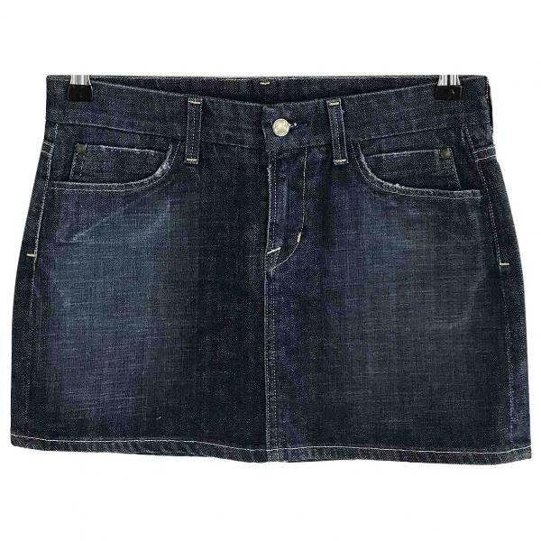 Citizens Of Humanity Navy Denim - Jeans Skirt