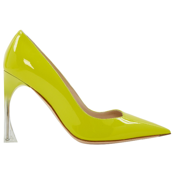 Dior Yellow Patent Leather Heels