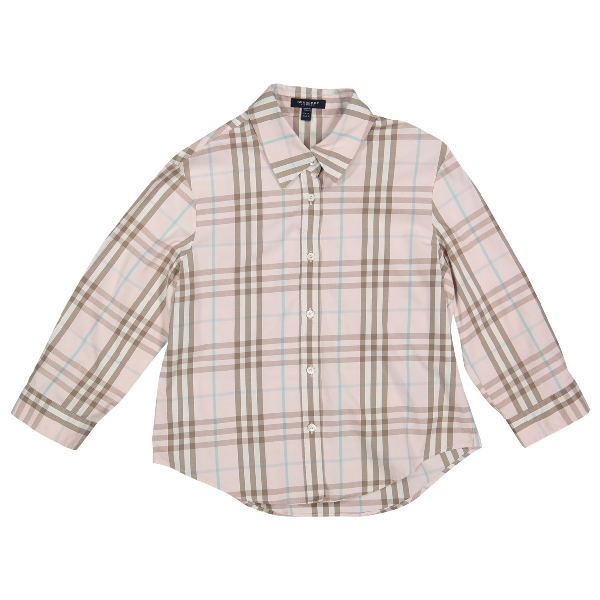 Burberry Pink Cotton  Top