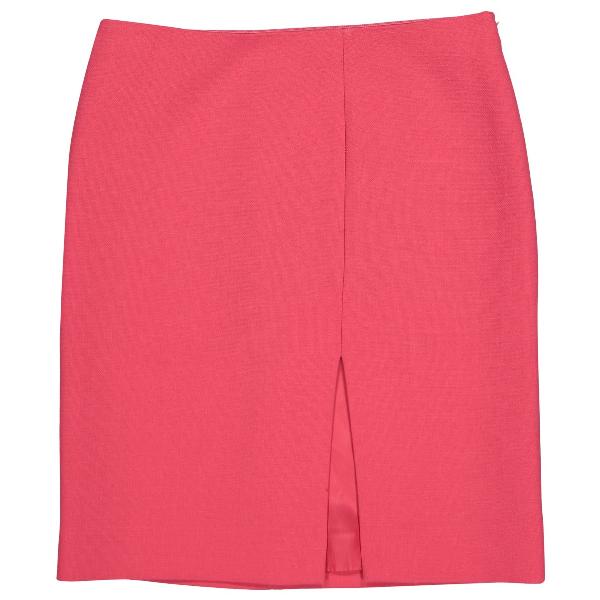 Moschino Pink Wool Skirt