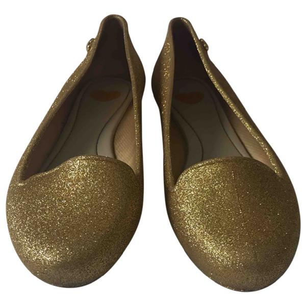 Melissa Gold Ballet Flats