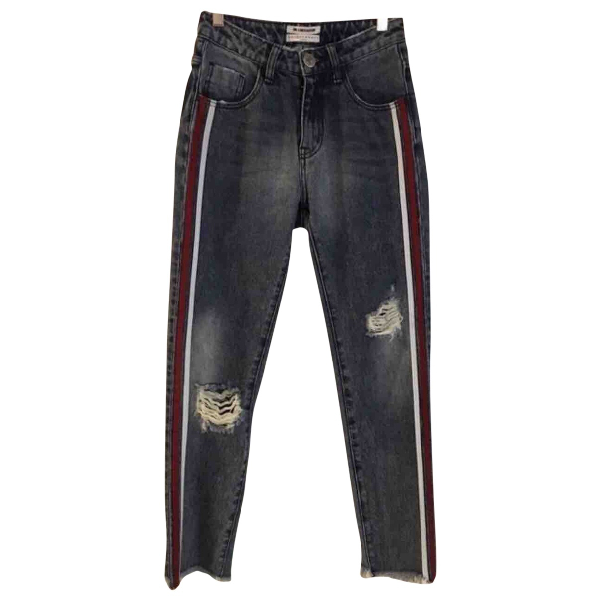 One Teaspoon Blue Cotton Jeans