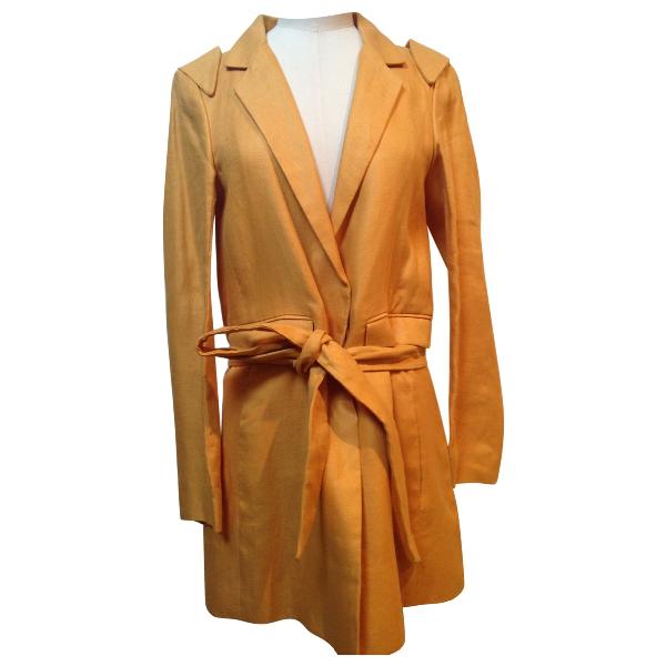 ChloÉ Yellow Linen Jacket