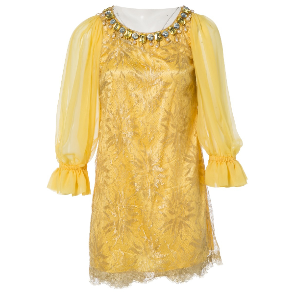 Dolce & Gabbana Yellow Dress