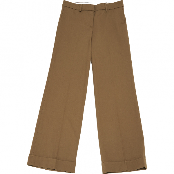ChloÉ Beige Wool Trousers