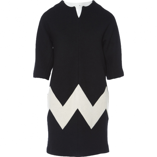 ChloÉ Black Wool Dress