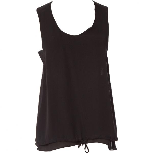 ChloÉ Black Silk  Top