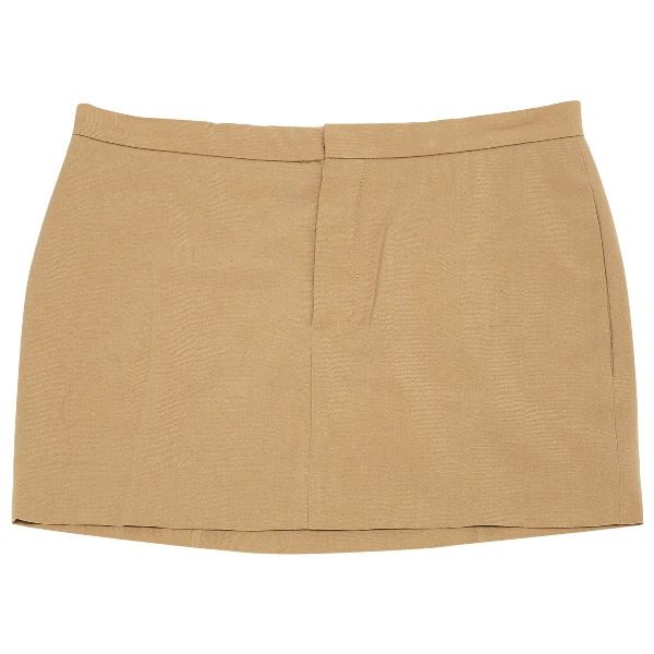 ChloÉ Camel Wool Skirt