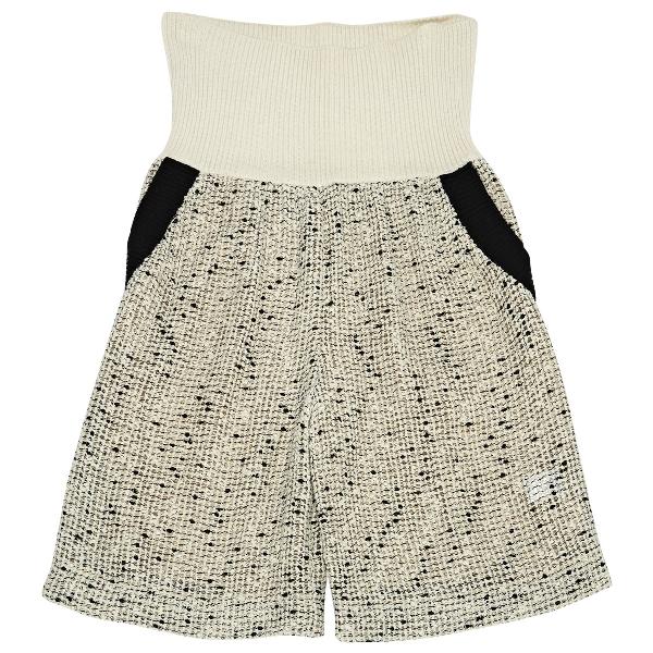 ChloÉ Ecru Cotton Shorts