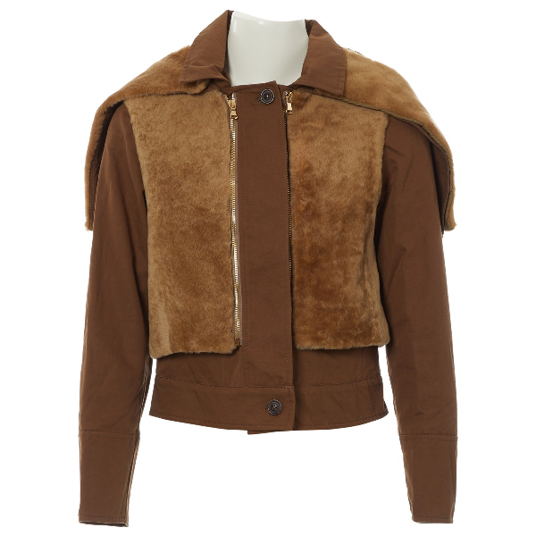 See By ChloÉ Camel Cotton Jacket
