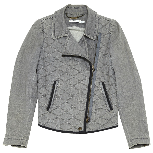 See By ChloÉ Grey Cotton Jacket