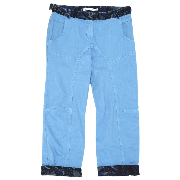 See By ChloÉ Blue Cotton Trousers