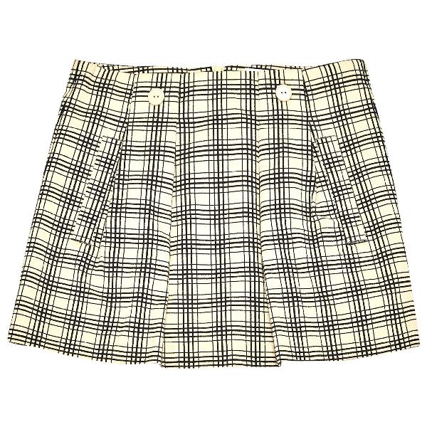 See By ChloÉ Ecru Cotton Skirt