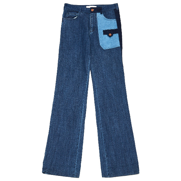 See By ChloÉ Blue Cotton - Elasthane Jeans