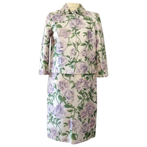 Dolce & Gabbana Multicolour Silk Jacket
