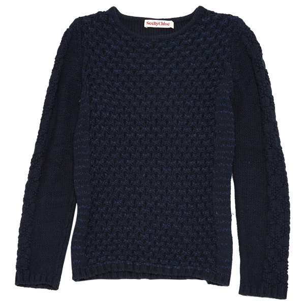 See By ChloÉ Navy Knitwear