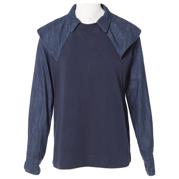 See By ChloÉ Navy Cotton  Top