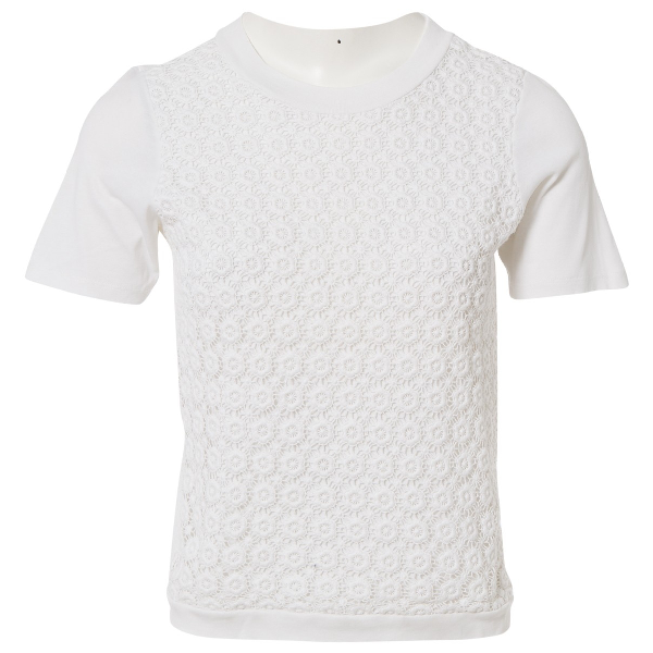 See By ChloÉ White Cotton  Top