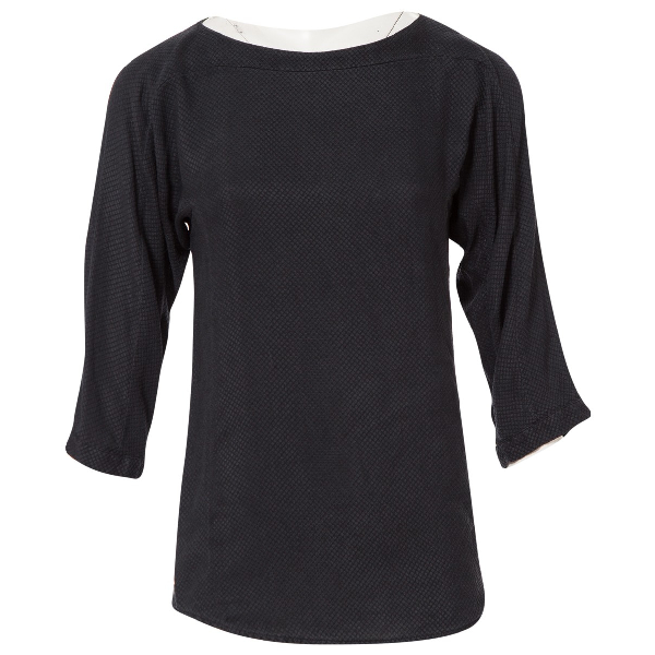 See By ChloÉ Anthracite Silk  Top