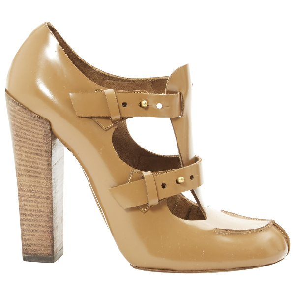 ChloÉ Brown Leather Heels