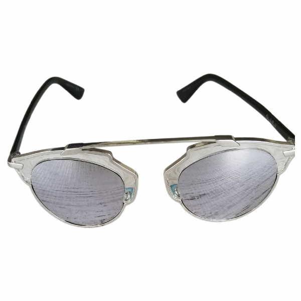 Dior So Real  Grey Metal Sunglasses