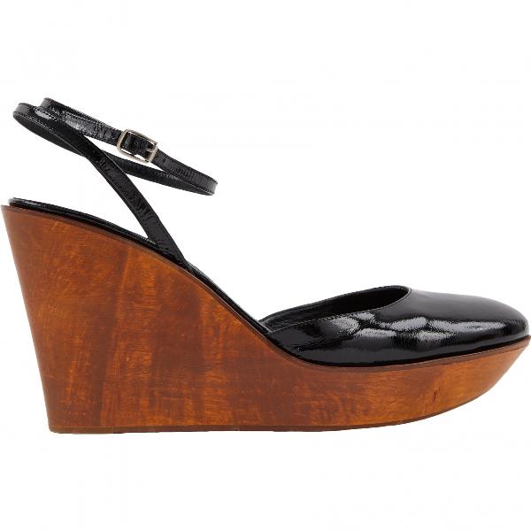 ChloÉ Black Patent Leather Heels