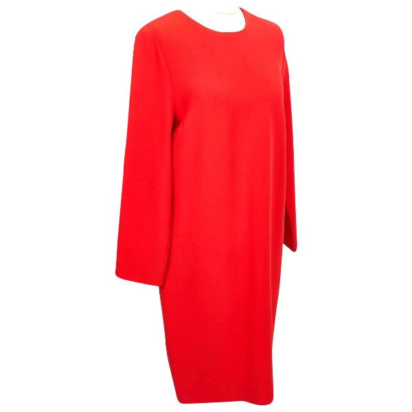 Victoria Victoria Beckham Red Dress